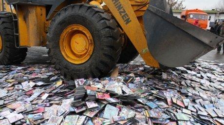 0f1246d80 Прокуратура Челнов обнаружила в ТЦ «Глобус» контрафактные DVD–диски