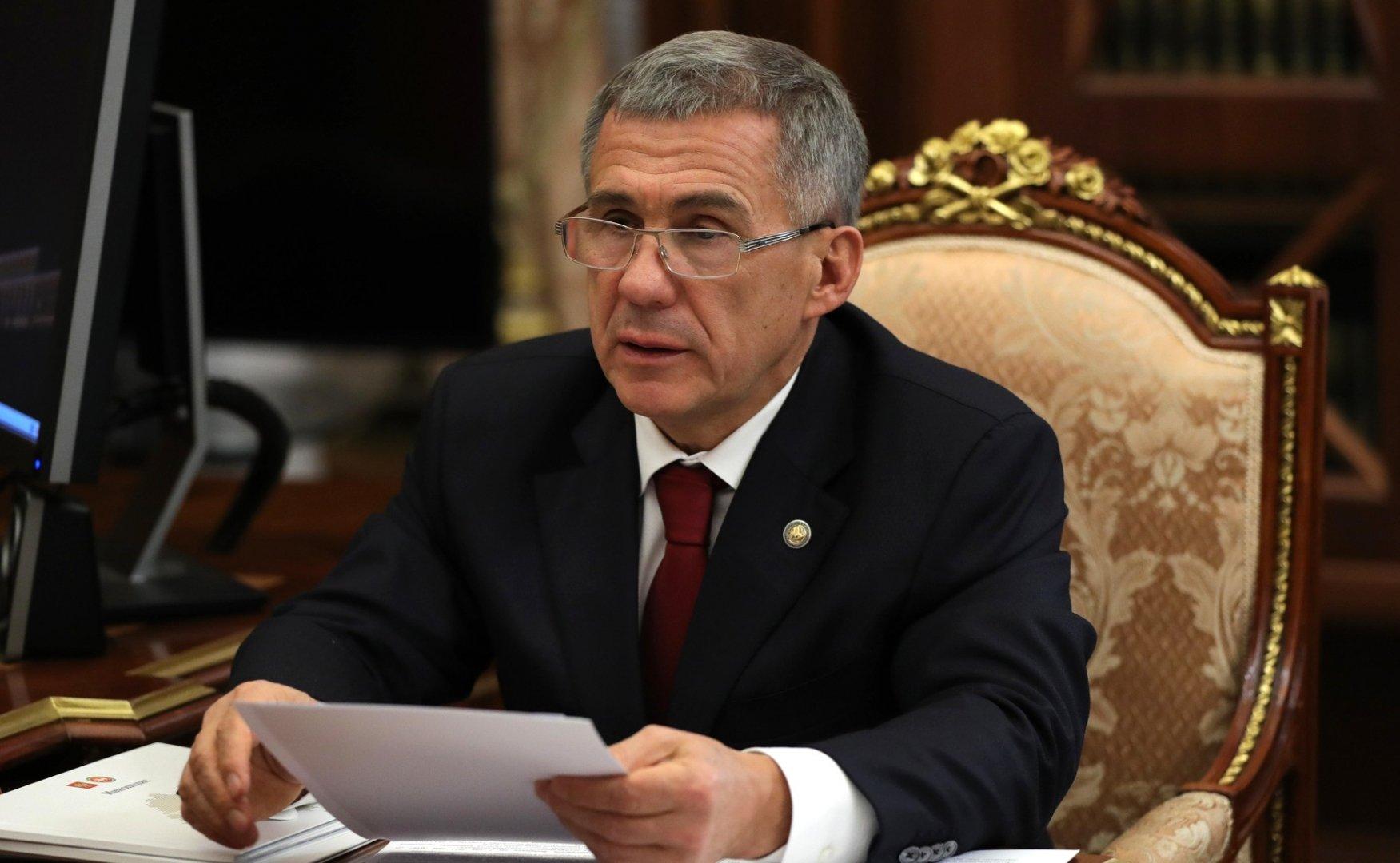 Рустам Минниханов ввел в Татарстане режим всеобщей